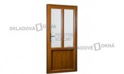 Vedľajšie vchodové dvere PREMIUM, pravé 980 x 2080