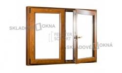 Dvojkrídlové plastové okno so štulpom PREMIUM 1250 x 1100