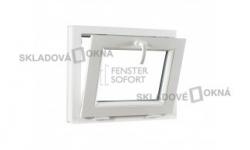 Sklopné plastové okno PREMIUM 600 x 550