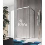 Glass 1989 Isy - posuvné dvere, rohový vstup pre šírku vaničky 80 cm