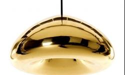 Stropné svietidlo TooLight Glass zlaté