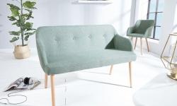 LuxD Dizajnová lavica Sweden limetková