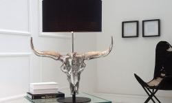LuxD 20071 Stolná lampa Randal 68 cm / čierna