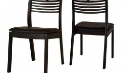 Catalent 21673 Dizajnová jedálenská stolička Zezi čierna