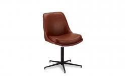 Furnistore 22648 Dizajnová stolička Aeneas, svetlohnedá