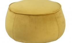 Dkton Dizajnová taburetka Nara, žltá