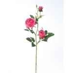 Umelá anglická ruža ružová, 69 cm